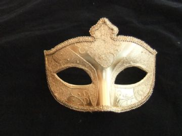 Gents Gold eye mask